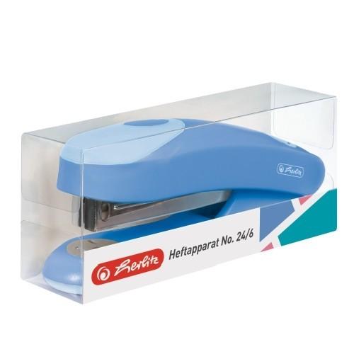 Tűzőgép ergo 24 6 Color Blocking baltic blue - KeS Papír - Minőségi ... a9a4762be5