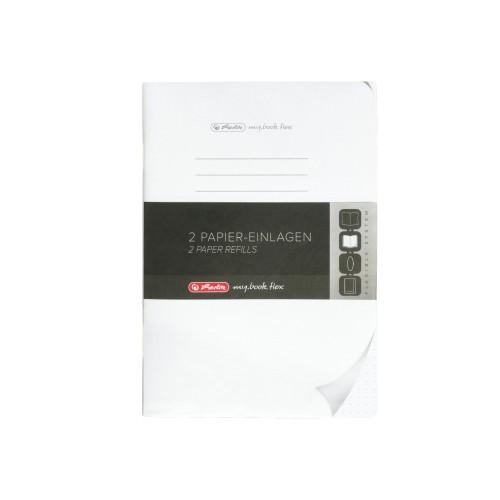 my.book.flex betét A5/2x40 lapos pöttyös