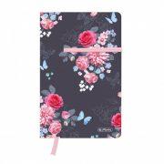 Herlitz my.book young A5 88 lapos füzet kockás Lady Flower