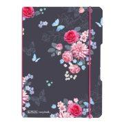 Herlitz my.book flex A5 40 lapos füzet kockás Ladylike Flower