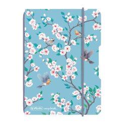 Herlitz my.book flex A6 40 lapos füzet kockás Ladylike Birds