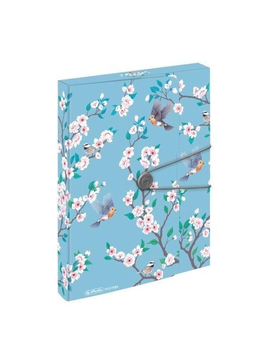 Herlitz Füzetbox A4 PP easy orga to go Ladylike Birds