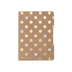 Herlitz my.book flex A5 40 lapos füzet kockás HC Pure Glam