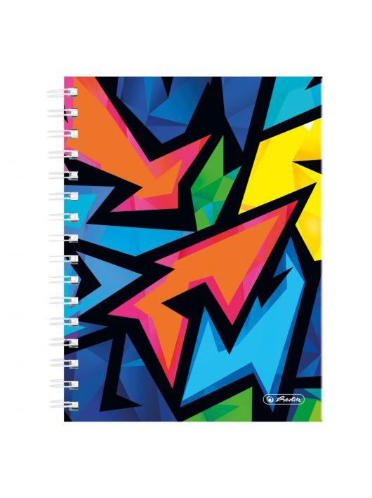 Spirál butikkönyv A5/100 NeonArt