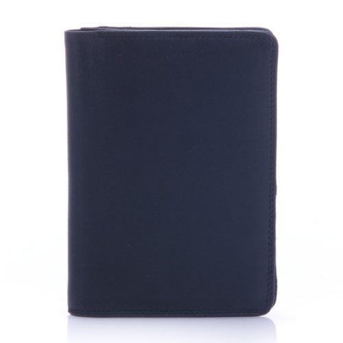 Férfi bőrpénztárca, Mywalit, fekete, 153-3