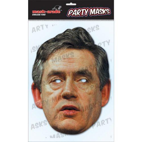 Gordon Brown maszk
