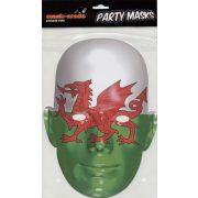 Wales zászló maszk