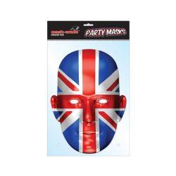 Angol zászló maszk