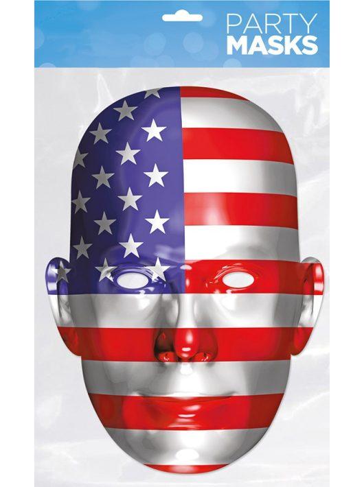 Maszk, USA zászló