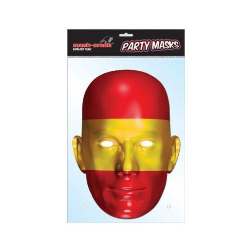 Spanyol zászló maszk