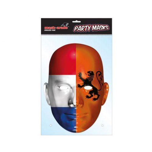 Holland zászló maszk