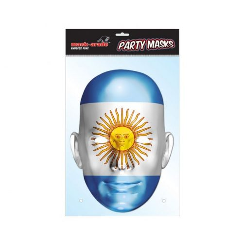 Argentin zászló maszk