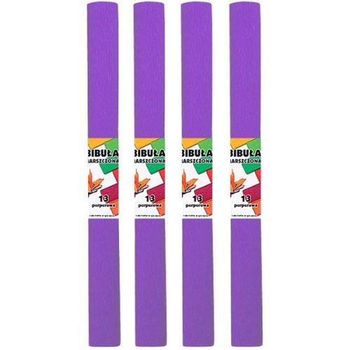 Krepp-papír (50x200cm) lila