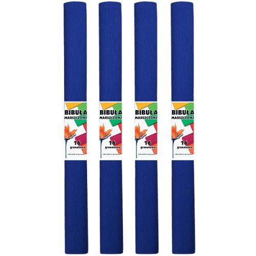 Krepp-papír (50x200cm) teng.kék