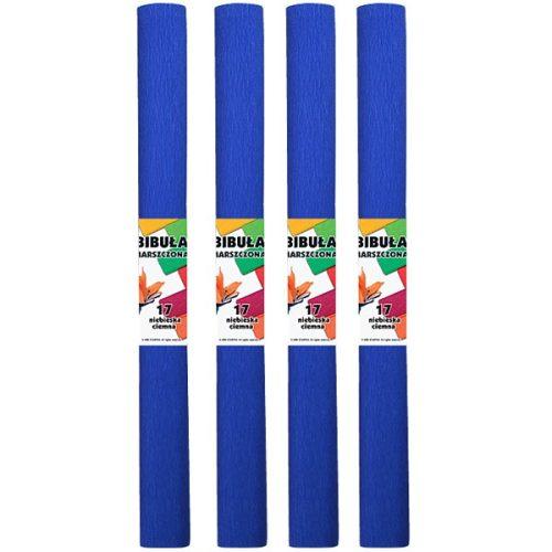 Krepp-papír (50x200cm) s.kék