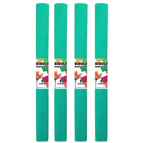 Krepp-papír (50x200cm) türkiz