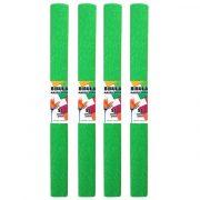 Krepp-papír (50x200cm) v.zöld