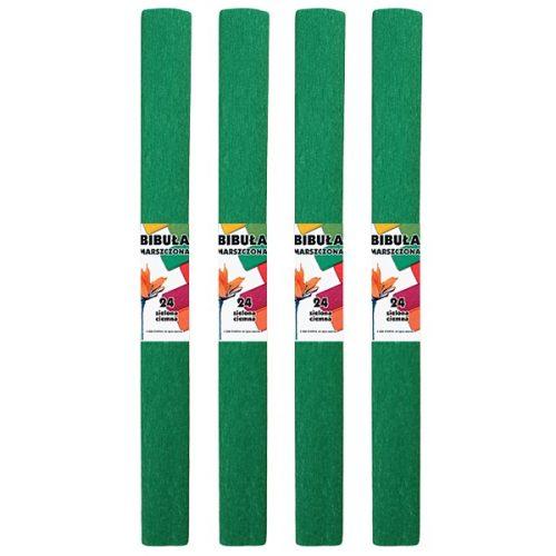 Krepp-papír (50x200cm) s.zöld