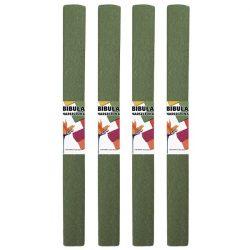 Krepp-papír (50x200cm) oliva