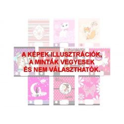 Füzet A/5 pink/black szótár
