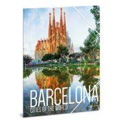 Cities-Barcelona gumis dosszié A/4