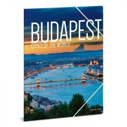 Cities-Budapest gumis dosszié A/4