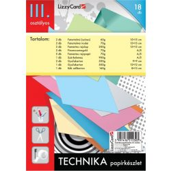 Technika tasak, papírkészlet 3. osztályos