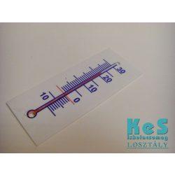 Műanyag hőmérő