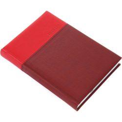 Real határidőnapló A/5 lux piros 5321