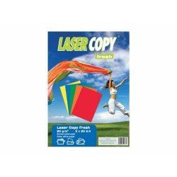 Másolópapír csomag A/4 80g ÉLÉNK színes 5x20ív LASER COPY 114-0097