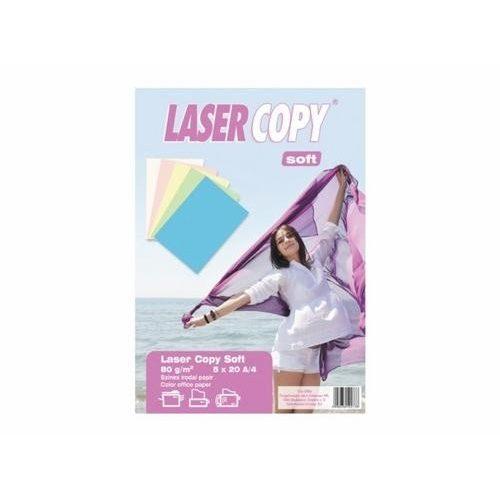 Másolópapír csomag A/4 80g PASZTEL színes 5x20ív LASER COPY 114-0096