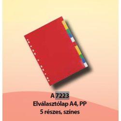 Elválasztólapok A7223 1-5 színes