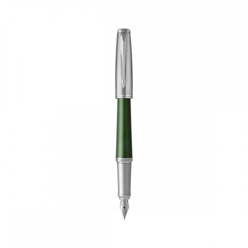 Parker ROYAL URBAN PREMIUM töltőtoll zöld cizellált, ezüst klipsz 1931617