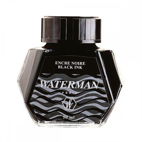 Waterman fekete tinta  50 ml 51061