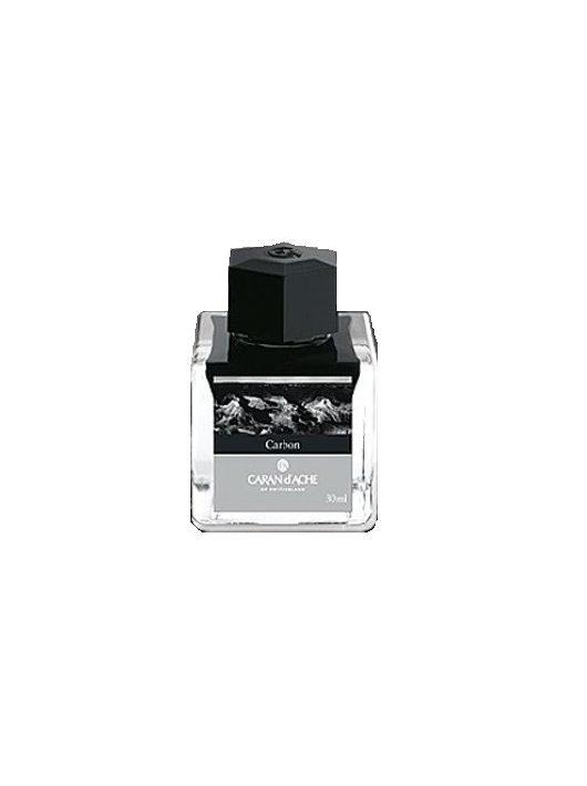 Caran d'Ache üveges tinta  Carbon (fekete)