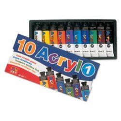 Akrilfesték PRIMO 10x18ml készlet