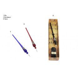 Kalligrafikus toll szett - hangjegyes