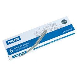 Ceruzabetét MILAN, 5,2 mm-es, HB-s, hegyezhető, fekete színű