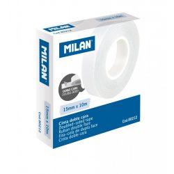 Kétoldalas ragasztószalag MILAN, 15 mm x 10 m-es