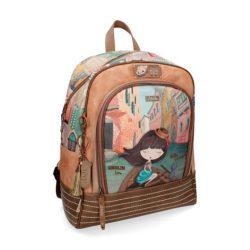 Anekke klasszikus iskolatáska Backpack kollekció, Venice, 36x14x40 cm