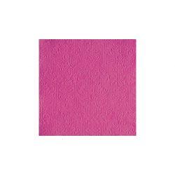 AMB.13307033 Elegance magenta papírszalvéta 33x33cm,15db-os
