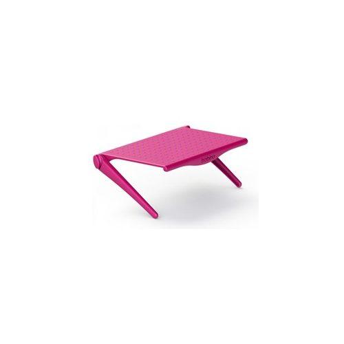 Monitorra rögzíthető polc, pink