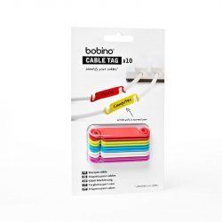 BOB Kábeljelölő 10 db színes CATAG1