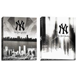Gyűrűskönyv, New Edition, A4, MLB boys