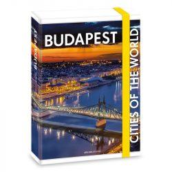 CITIES-BUDAPEST FÜZETBOX A/5