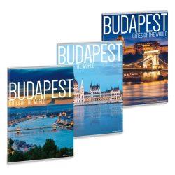 CITIES-BUDAPEST FÜZET A/4 VONALAS