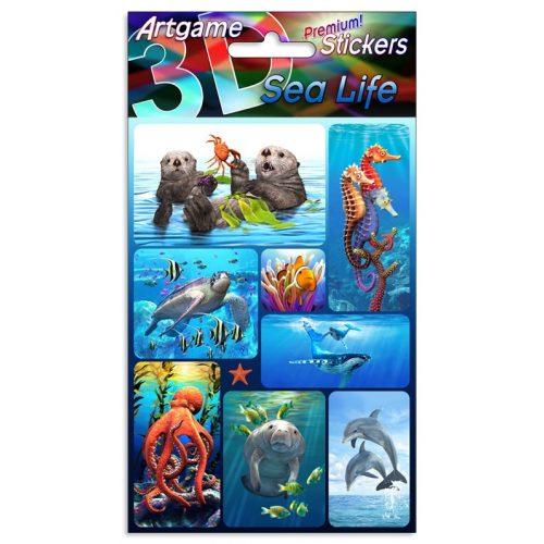 3D Matrica, tenger élővilága