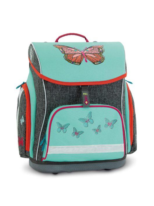 Ars Una Butterflies pillangós mágneszáras iskolatáska (1-4. osztályig)