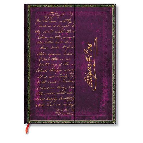 Paperblanks butikkönyv Poe, Tamerlane ultra vonalas