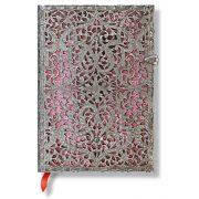 Paperblanks butikkönyv Blush Pink midi vonalas